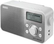 sony xdr s60dbpw portable digital dab dab radio white photo