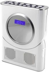 soundmaster bcd250 watersplashproof bathroom cd clock radio silver photo