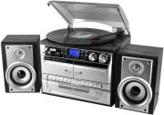 soundmaster mcd4500 stereo music center with turntable and encoding photo