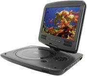 soundmaster pdb1950 9 portable dvd player with wireless ir headphone photo