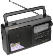 panasonic rf 3500 analogue portable radio black photo