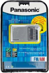 panasonic rf p150 portable am fm radio silver photo