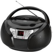 aeg sr 4365 stereo radio with cd black photo