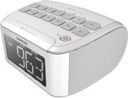sangean rcr 24 fm am aux in digital tuning clock radio white photo