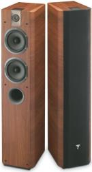 focal chorus 714 walnut floorstanding speaker zeygos photo