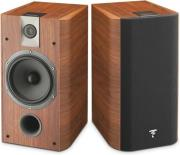focal chorus 706 2 way bass reflex bookshelf 2 speaker set walnut photo