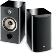 focal aria 906 bookshelf 2 way loudspeaker black photo