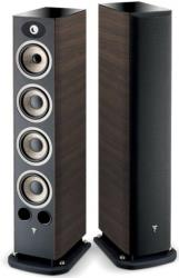 focal aria 936 3 way floorstanding loudspeakers set walnut photo