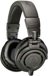 audio technica ath m50xmg pro studio monitor headphones limited edition grey photo