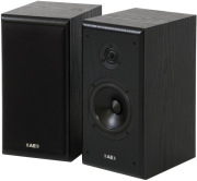 acoustic energy aegis neo 1 bookshelf speakers set black ash photo