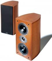 acoustic energy aelite 2 bookshelf speakers set red cherry veneer photo