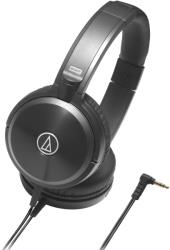 audio technica ath ws77 solid bass over ear headphones black photo