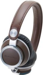 audio technica ath re700 high fidelity audiophile on ear headphones brown photo