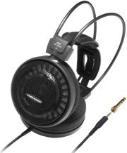 audio technica ath ad500x audiophile open air headphones black photo