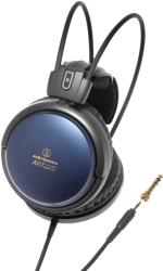 audio technica ath a700x audiophile closed back dynamic headphones blue photo