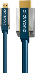 clicktronic hc295 micro hdmi to hdmi cable 2m advanced photo