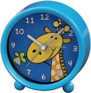 hama 113931 giraffe kids alarm clock blue photo