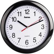 hama 113920 pp 250 quartz wall clock black photo