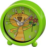hama 113933 cat kids alarm clock green photo