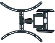 hama fullmotion tv wall mount 1 star xl 165 cm 65 black photo
