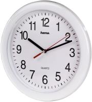 hama 113921 pp 250 quartz wall clock white photo