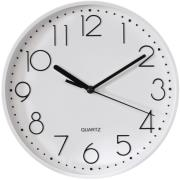 hama 123166 pg 220 wall clock silent white photo