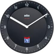 braun bnc006 classic wall clock black photo