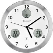 bresser mytime io wall clock 30cm white photo