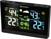 BRESSER RADIO CONTROLLED WEATHER STATION WITH COLOUR DISPLAY gadgets   παιχνίδια   μετεωρολογικοί σταθμοί