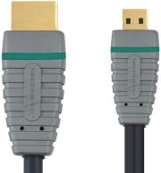 bandridge bvl1702 high speed hdmi cable with ethernet 2m photo