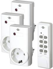 brennenstuhl wireless switch set rcs 1000n comfort white photo
