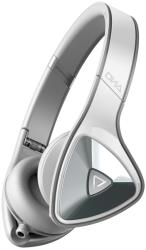 monster dna on ear headphones apple controltalk white over light grey photo