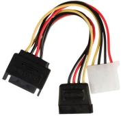valueline vlcp73555v015 power adapter cable sata 15 pin molex female sata 15 pin m f 015m photo