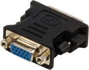 valueline vlcp32900b dvi to vga adapter dvi i 24 5 pin male vga female black photo