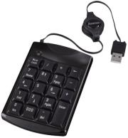 hama 53820 slimline keypad sk140 black photo
