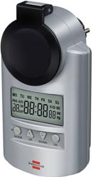 brennenstuhl 1507490 primera line digital weekly timer dt ip44 silver photo