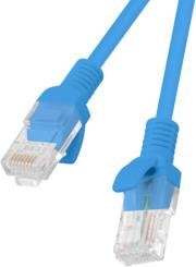 lanberg patchcord cat5e 10m blue photo