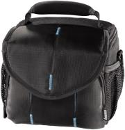 hama 103672 canberra camera bag 110 black blue photo