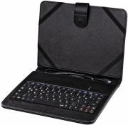 hama 50468 otg tablet bag 8 with integrated keyboard black photo