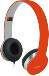 LOGILINK HS0035 SMILE STEREO HIGH QUALITY HEADSET WITH MICROPHONE RED υπολογιστές   ηχεία   μικρόφωνα