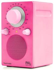 tivoli pal palpink classic series portable radio pink photo