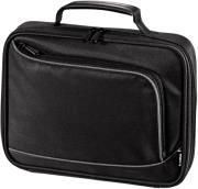 hama sportsline bordeaux notebook carry bag displays up to 26 cm 102 black photo