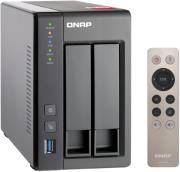 qnap ts 251 8g 2 bay nas quad core 8gb 25 or 35  photo