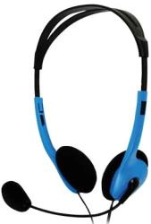 basicxl bxl headset 1 portable stereo headset blue photo