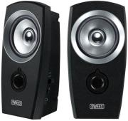 sweex sp040 20 speaker set usb black silver photo