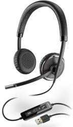 PLANTRONICS BLACKWIRE C520-M OVER-THE-HEAD BINAURAL USB HEADSET USB HEADSET MICR υπολογιστές   ηχεία   μικρόφωνα