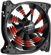 sharkoon shark blades 120mm red photo