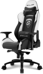 SHARKOON SKILLER SGS3 GAMING SEAT BLACK/WHITE gadgets   παιχνίδια   gaming chairs