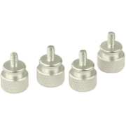 sharkoon thumb screws silver 4 pack photo