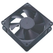 akasa ak 181bk 2b black case fan 80mm ultra quiet 2 bb photo